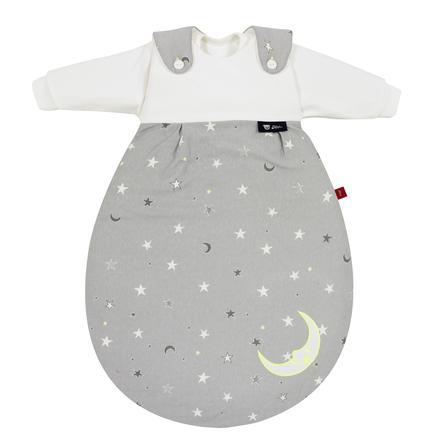 s.Oliver Alvi Saco de dormir Baby-Mäxchen® - El Original 3 piezas - Estrellas gris neón