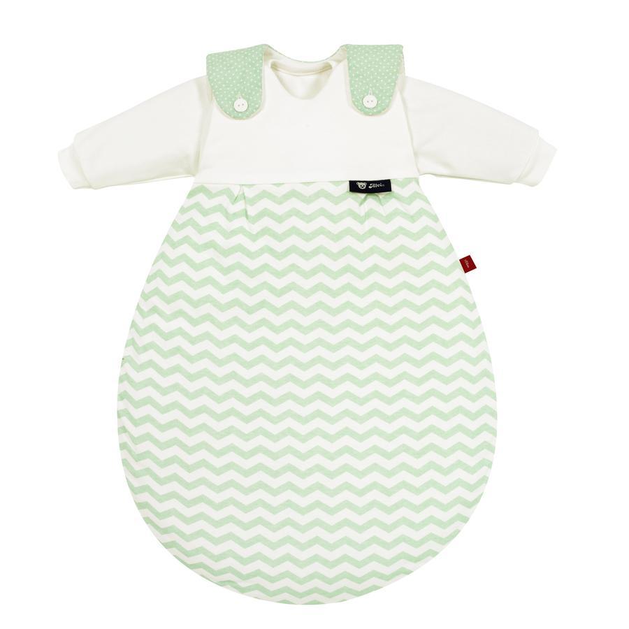 s.Oliver Alvi Baby-Mäxchen Śpiworek Cevron green 3-częściowy