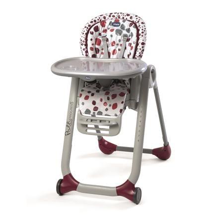 CHICCO Chaise haute Polly Progres5 Cherry