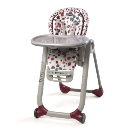 CHICCO Jídelní židlička Polly Progres5 Cherry