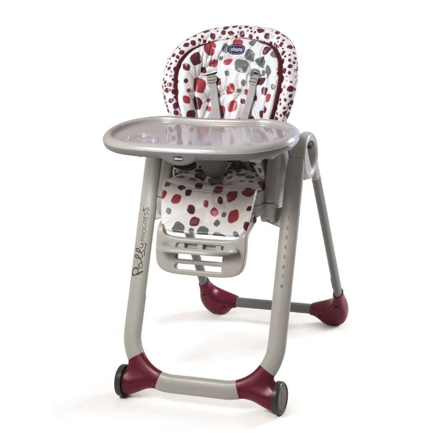 CHICCO Kinderstoel Polly Progres5 Cherry
