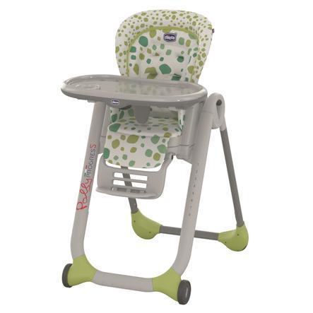 CHICCO Chaise haute Polly Progres5 Kiwi