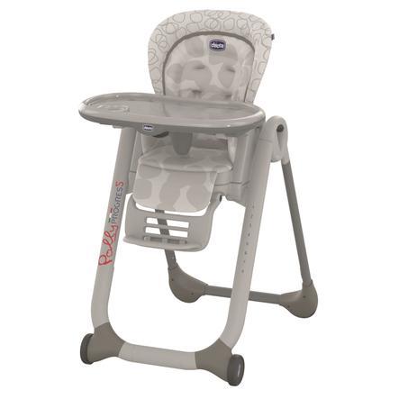 CHICCO Jídelní židlička Polly Progres5 Grey