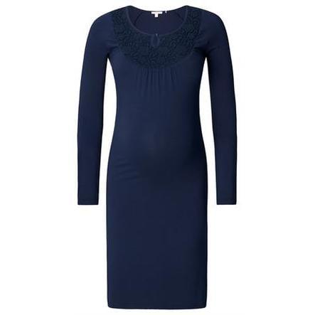 ESPRIT Robe de maternité bleu foncé
