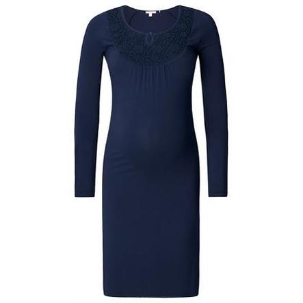 ESPRIT Vestido de maternidad azul oscuro