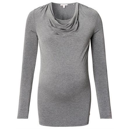 ESPRIT Verpleegkundig Shirt grijs melange