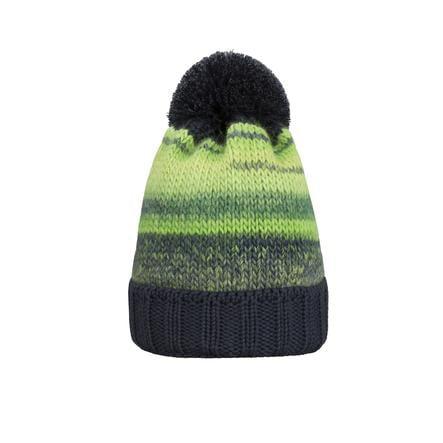 Döll Boys Cappello a maglia bobble hat verde incandescente