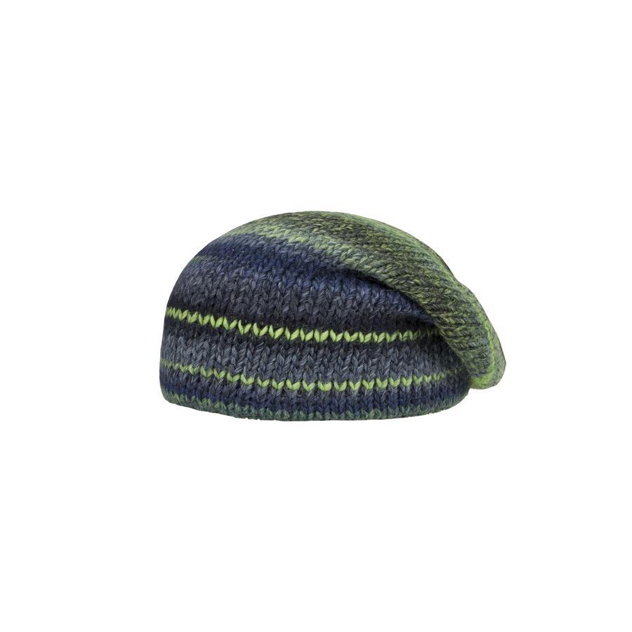 Döll Boys bobble hat tricoté vert luisant