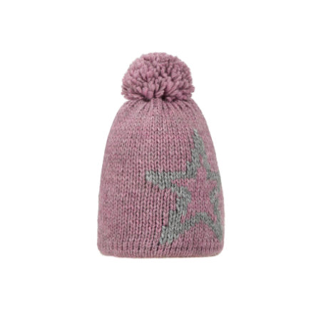 Döll Girl s Bobble hat tricoté rose