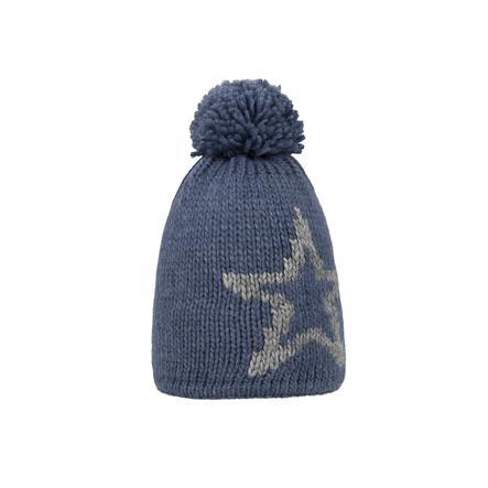 Döll Dzianinowy kapelusz z dzianiny w kolorze niebieskim.