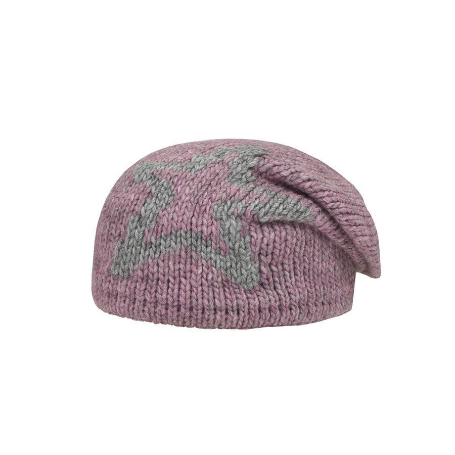 Döll Girl cappello a maglia di s stella stella rosa
