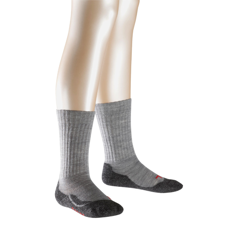FALKE Socken Active Warm grey melange