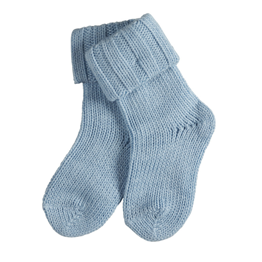 FALKE Boys Socken Flausch crystal blue