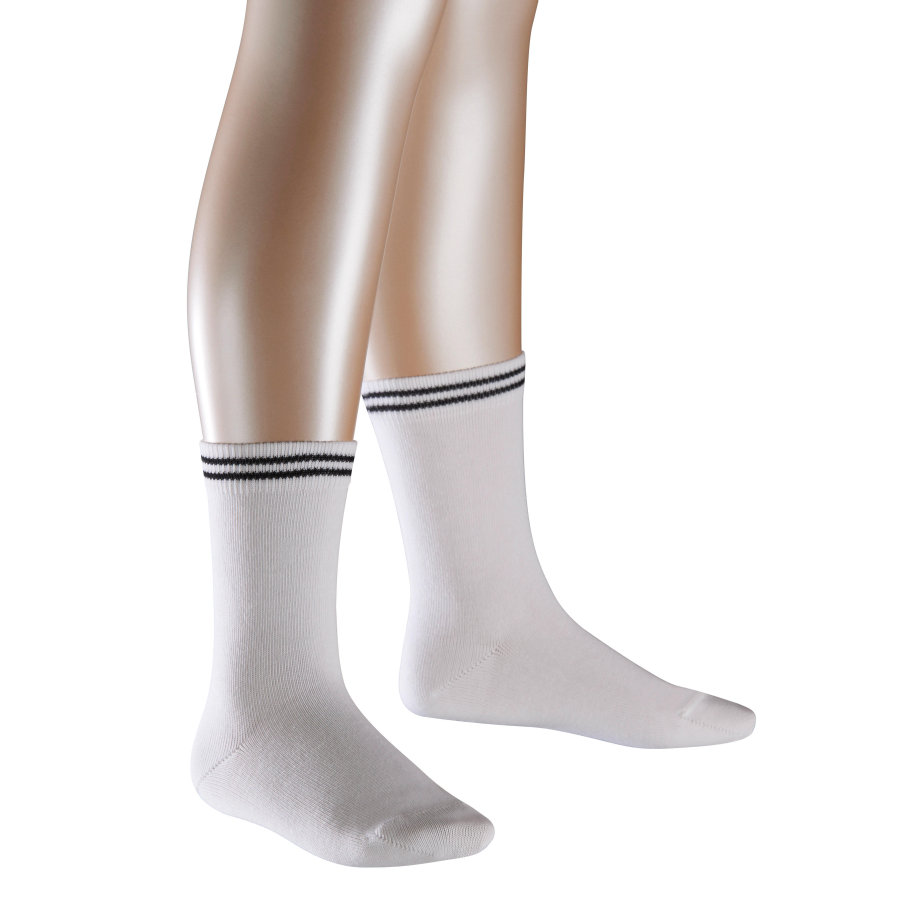 FALKE Socken 2Friends Doppelpack white