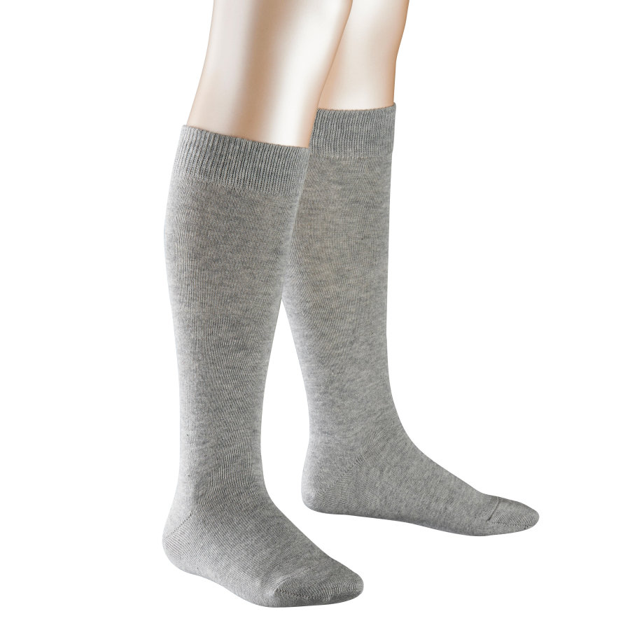 FALKE Kniestrümpfe Family light grey