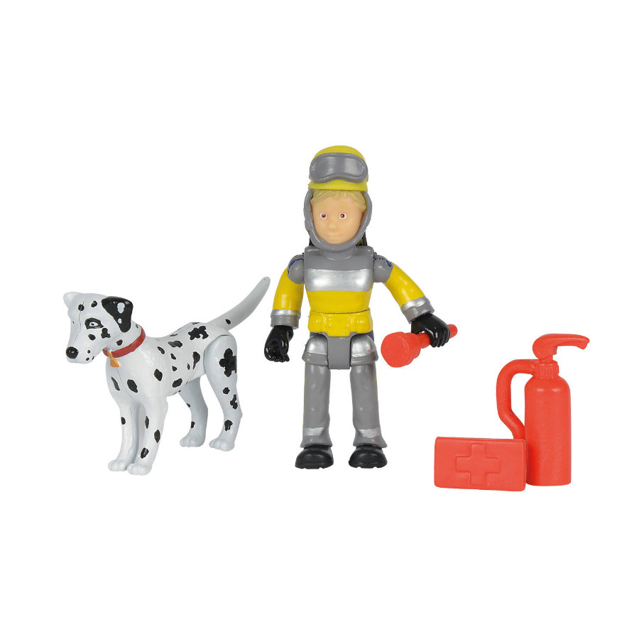 simba ensembles figurines sauvetage des animaux sam le pompier. Black Bedroom Furniture Sets. Home Design Ideas