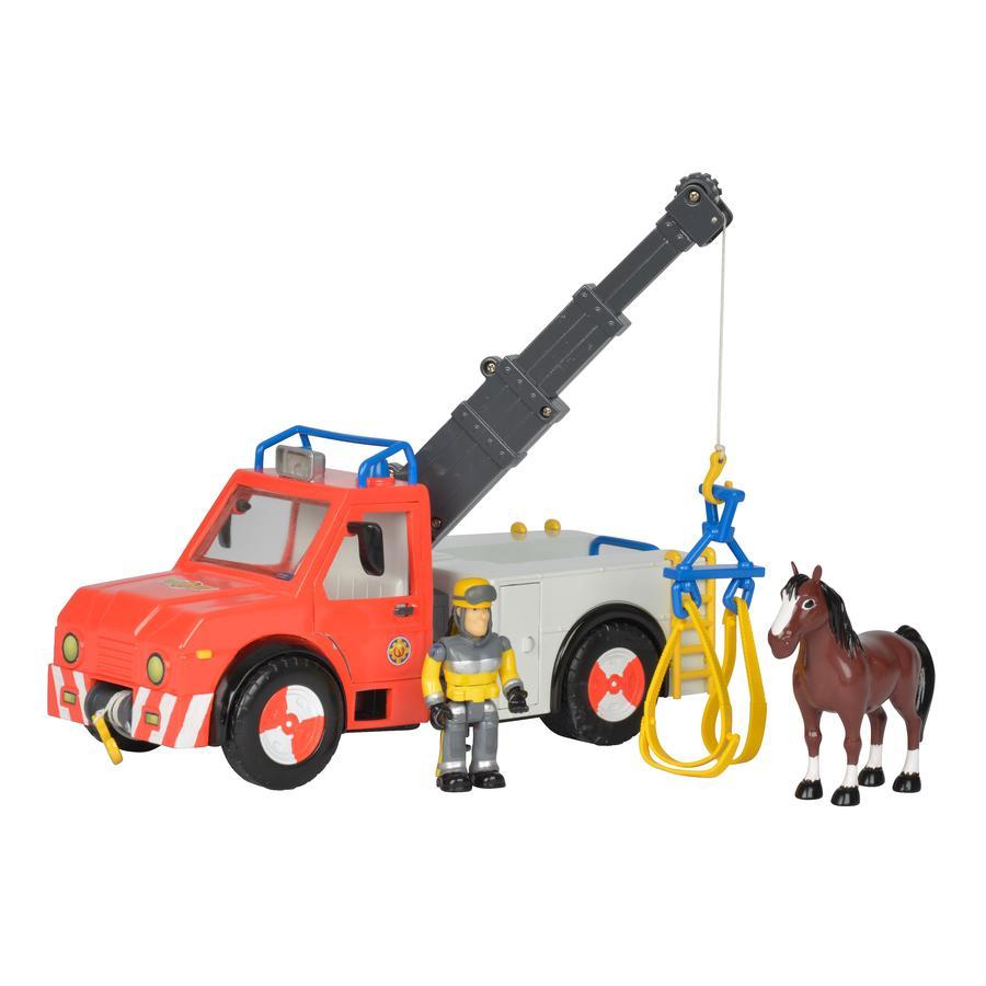 Simba hasič Sam - Phťnix s figurkou a koněm