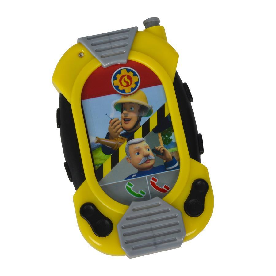 SIMBA Téléphone messenger Sam le pompier, lumière et son