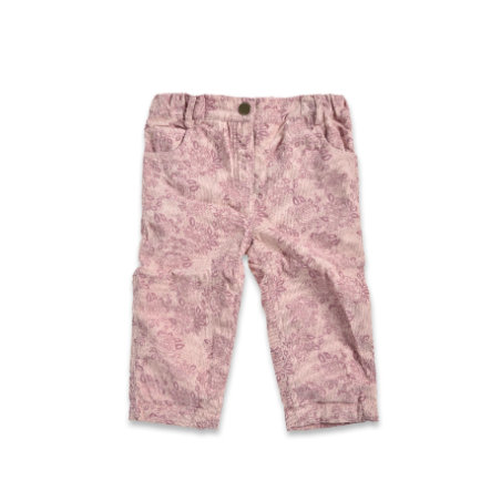 BLUE SEVEN Girl pantalon en velours côtelé s rose