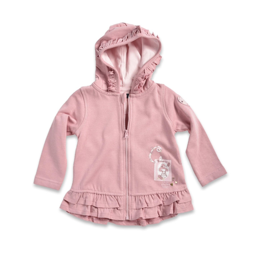 BLUE SEVEN Girls Sweatjacke mauve
