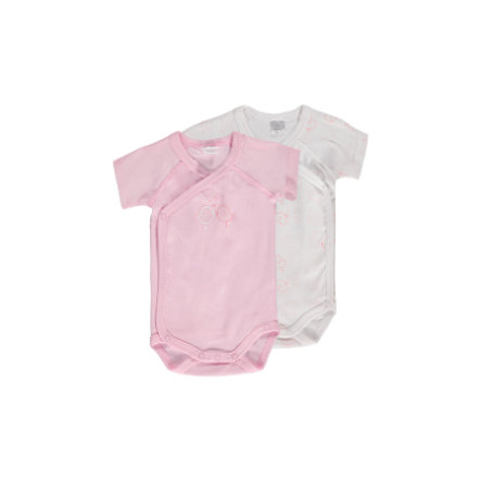 KANZ Baby Bodies 1/4 Arm - 2er Pack - weiss