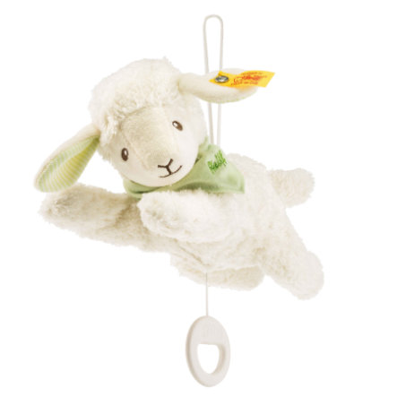 Steiff Baby Lenny Lamm Spieluhr, 24 cm