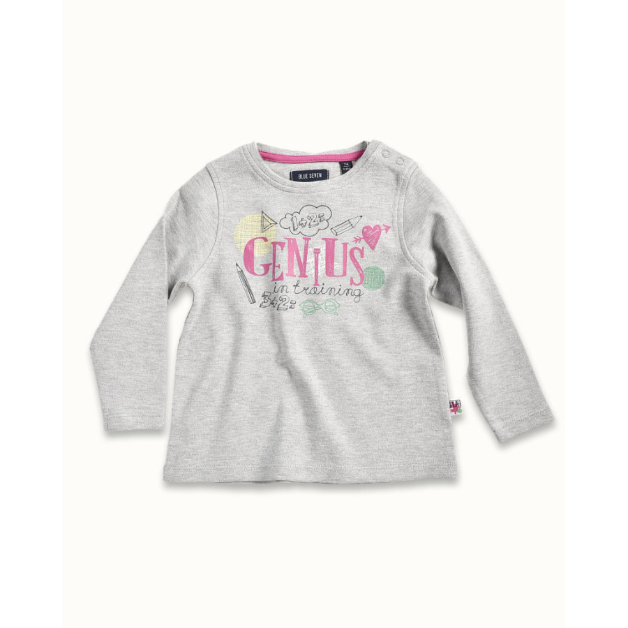BLUE SEVEN Girls Longsleeve grau