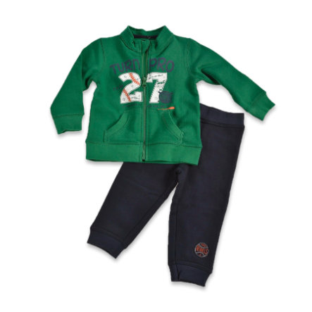 BLUE SEVEN Boys Verde sudore-Set