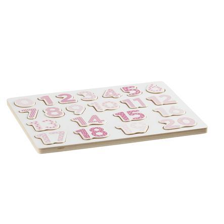 Kids Concept Puzzle delle lettere, rosa