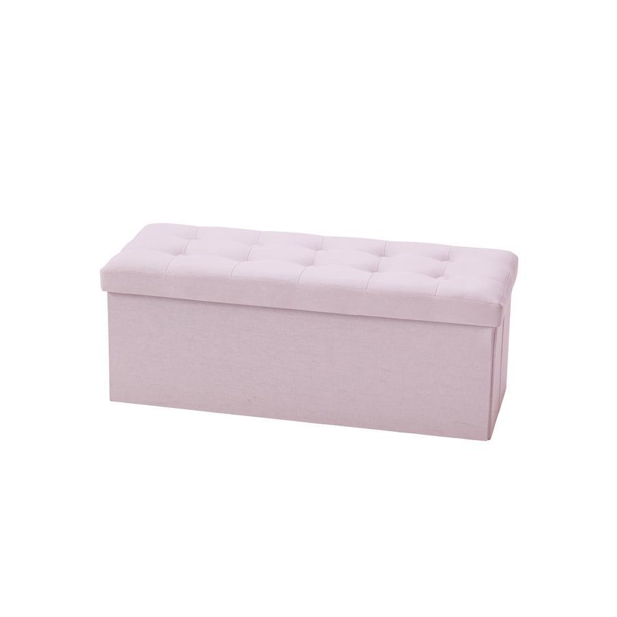 Kids Concept Cesto porta oggetti lungo, rosa
