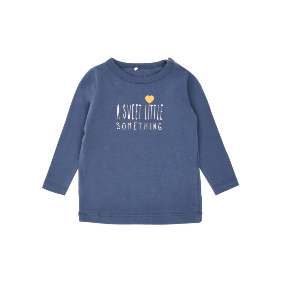 name it Girls Longsleeve Nitsamma Vintage indigo