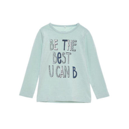 name it Girls Longsleeve Vix harbor gray