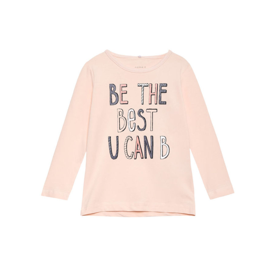name it Girls Longsleeve Vix pearl