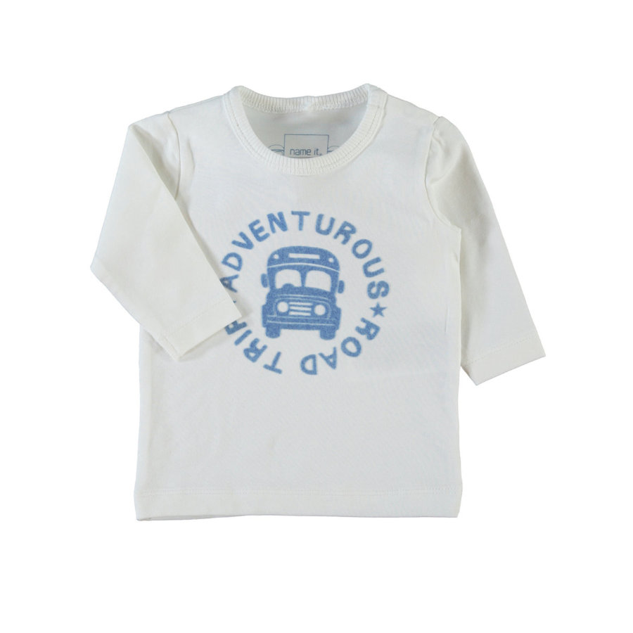 name it Boys Longsleeve Karsten bright white