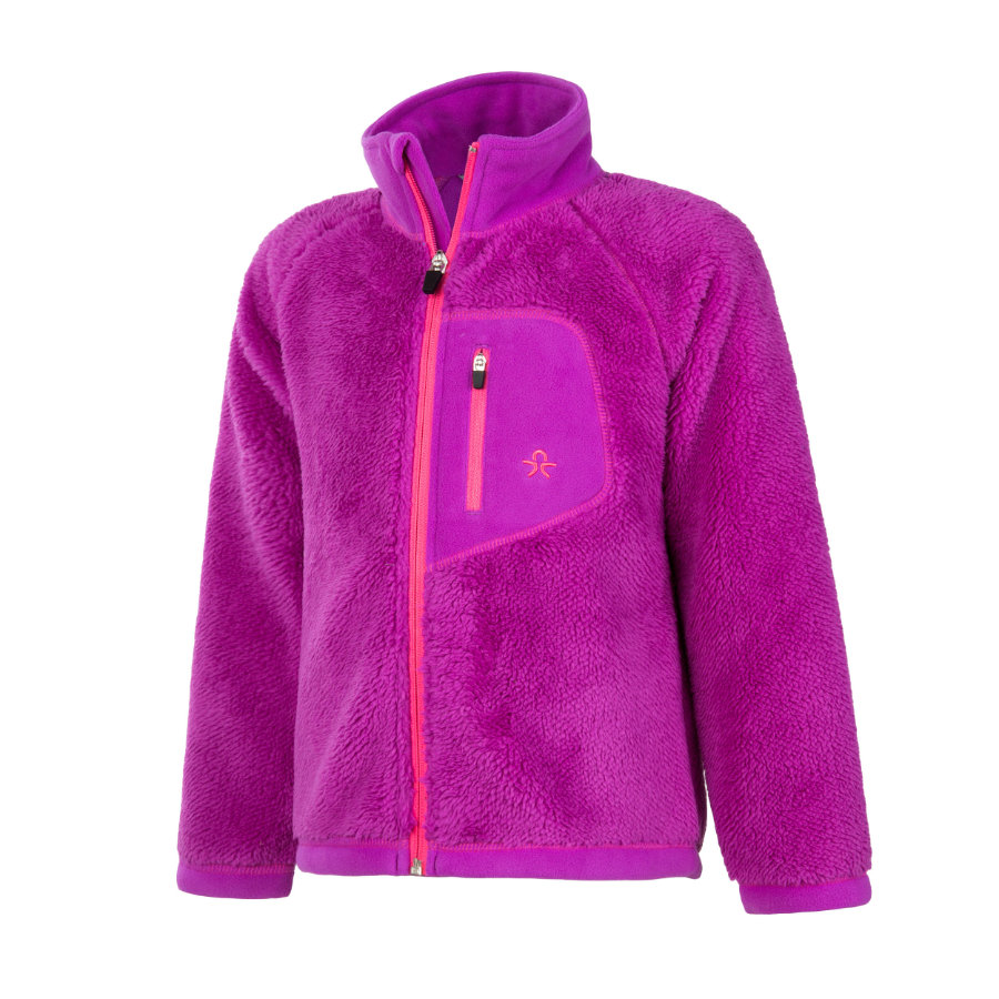 COLOR KIDS Fleecejas Burma Purple Cactus