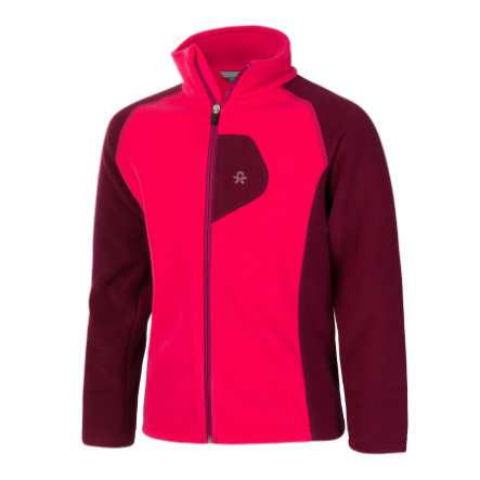 COLOR KIDS  Blouson polaire Rafting Beeting Beet Rouge