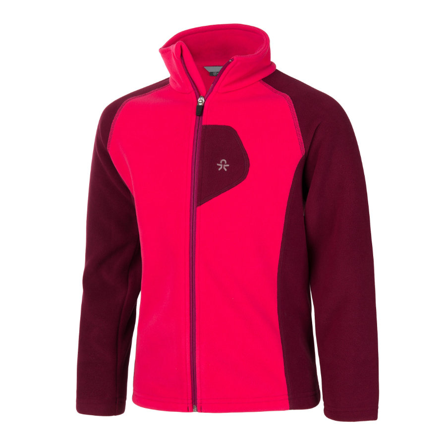 COLOR KIDS Fleecejacke Rafting Beet Red