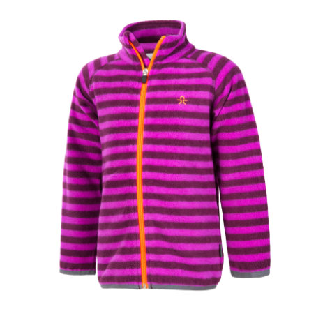 COLOR KIDS Fleecejacke Vilbur Dark Purple
