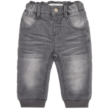name it Boys Sweatjeans Lan dark grey denim