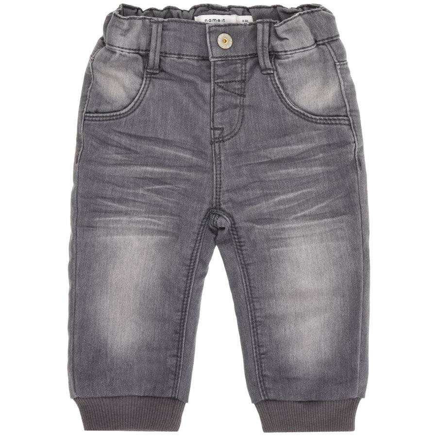 name it Boys Tepláky Lan dark grey denim