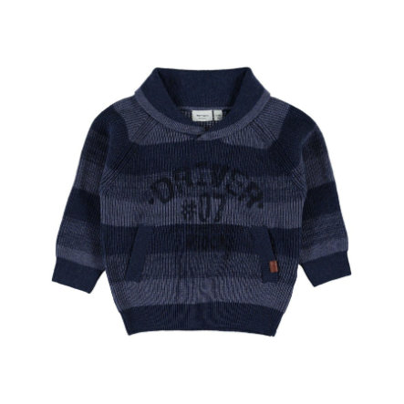 name it Boys Svetr Lyder vintage indigo