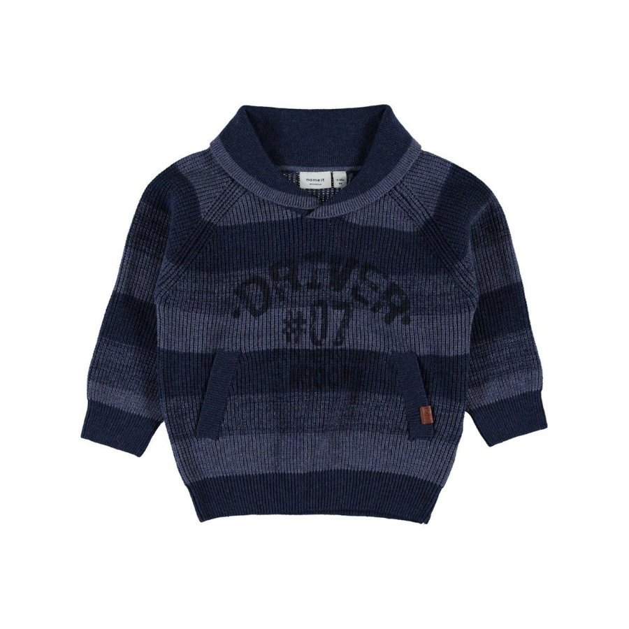 name it Boys Pullover Lyder vintage indigo