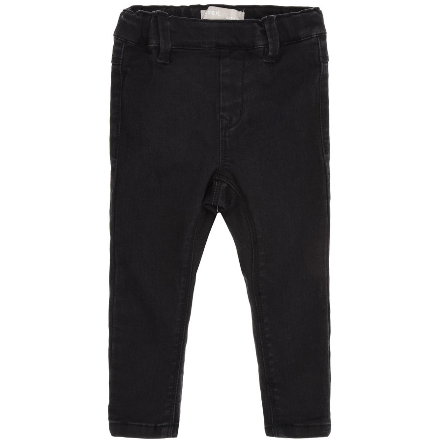 NAME IT tyttöjen Jeans Tea black Denim