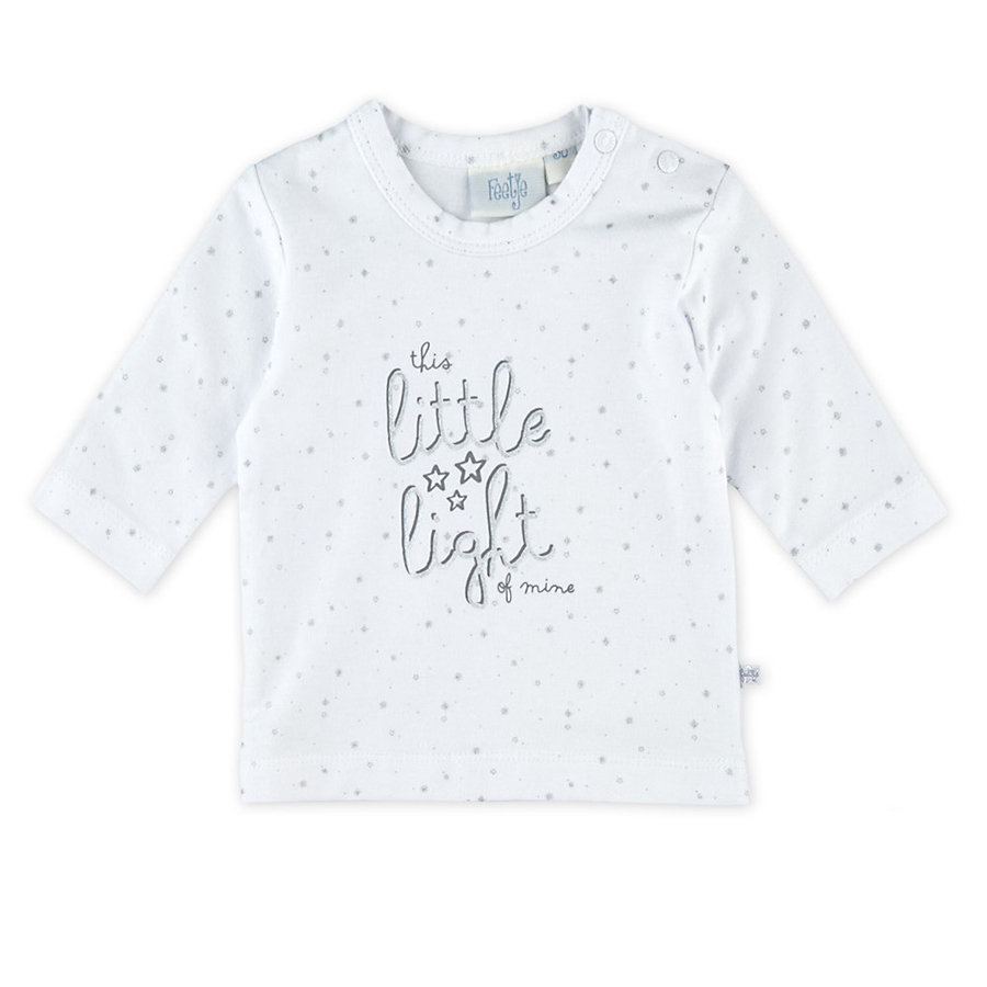 Feetje Girl s Longsleeve this little light of mine white