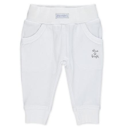 Feetje Girl s I pantaloni da ginnastica brillano di un bianco brillante