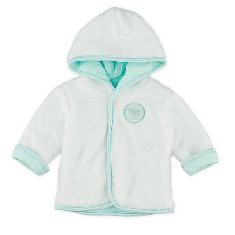 Feetje Girl s giacca reversibile con cappuccio in peluche bianco, menta