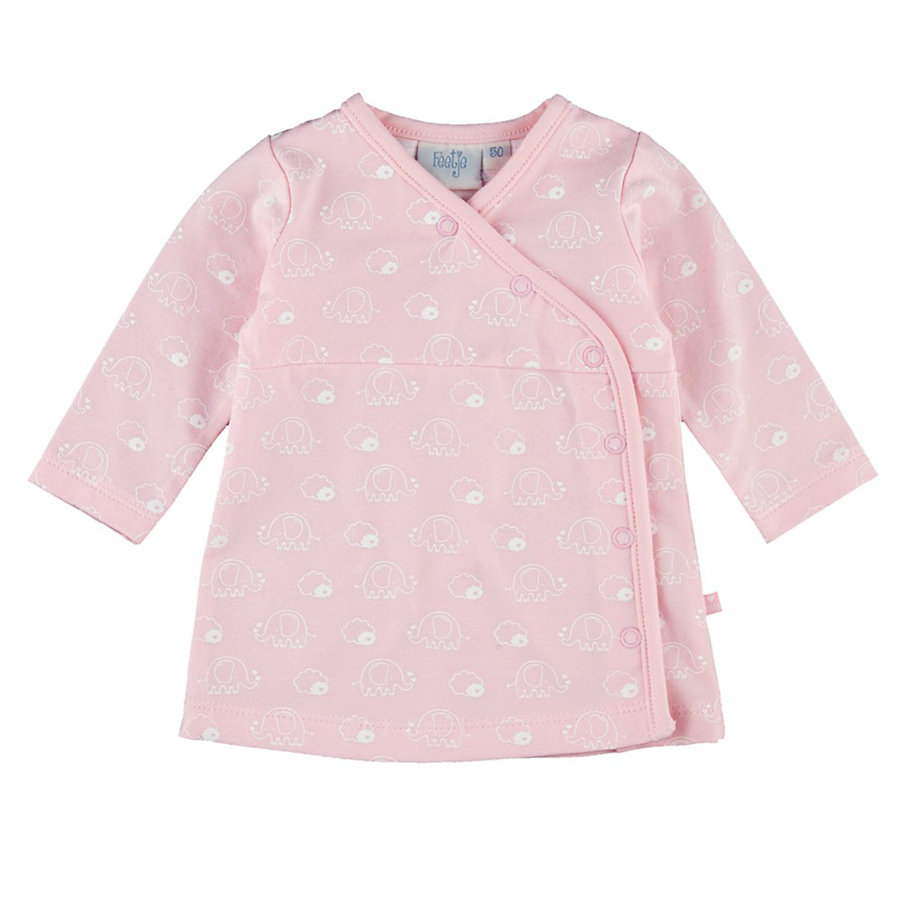 Feetje Girls Wickel Kleid Elefeant pink