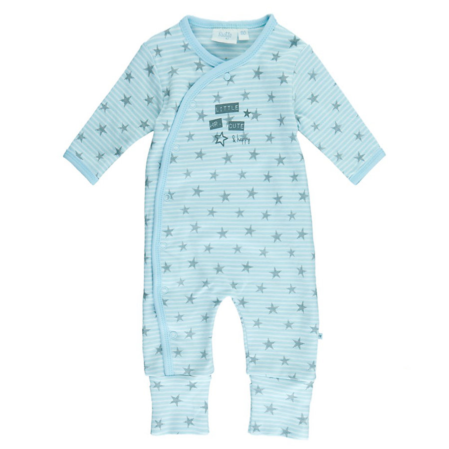 Feetje Boys gwiazdy romper Mr. Cute blue