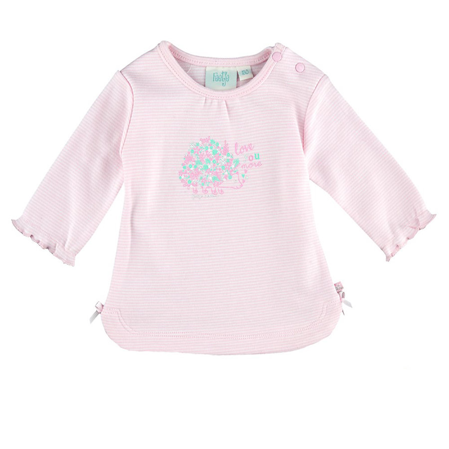 Feetje Girls Longsleeve Love you more roze
