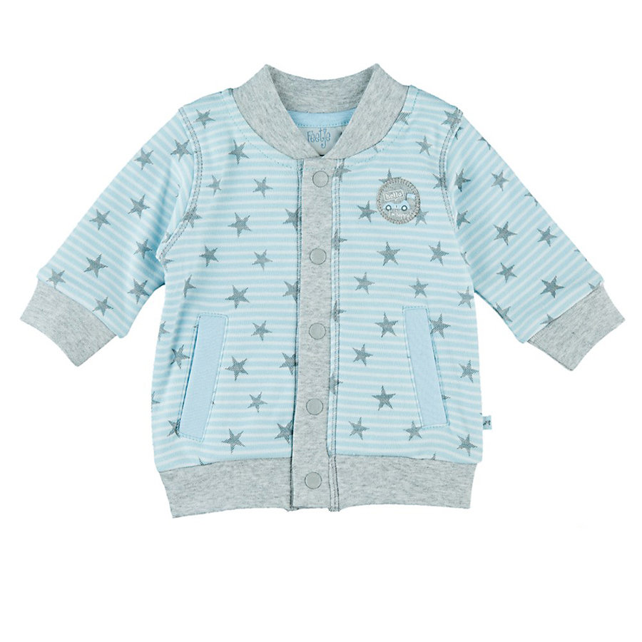 Feetje Boys Sweatjacke Sterne Mr.Cute blau